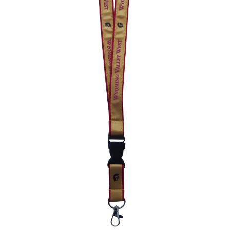 Custom Nylon Lanyards