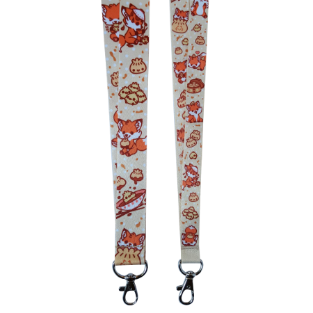 custom sublimation lanyards